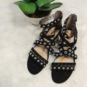 Sam Edelman  Women's Dustee Wedge Sandal Size 9